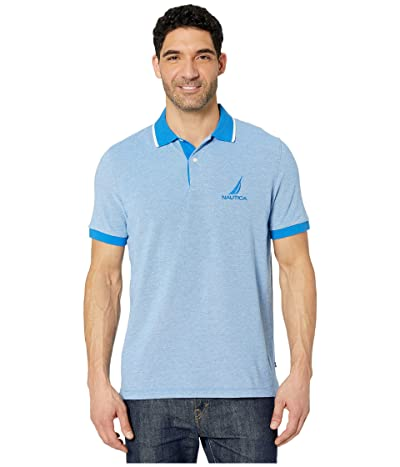 Nautica Oxford Polo (Blue) Men