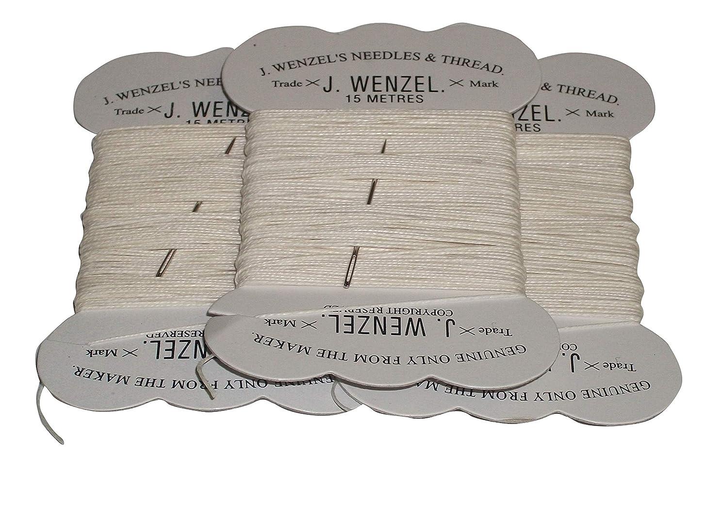 害虫アプローチファイアル(ビッツ) Bitz 馬用 三つ編み用紐 カードブレイディング お手入れ 乗馬 グルーミング (3個組) (15m x 3個) (ホワイト)