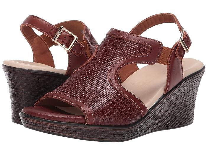 SAS Rosa (Woven Brown) Women's Sandals