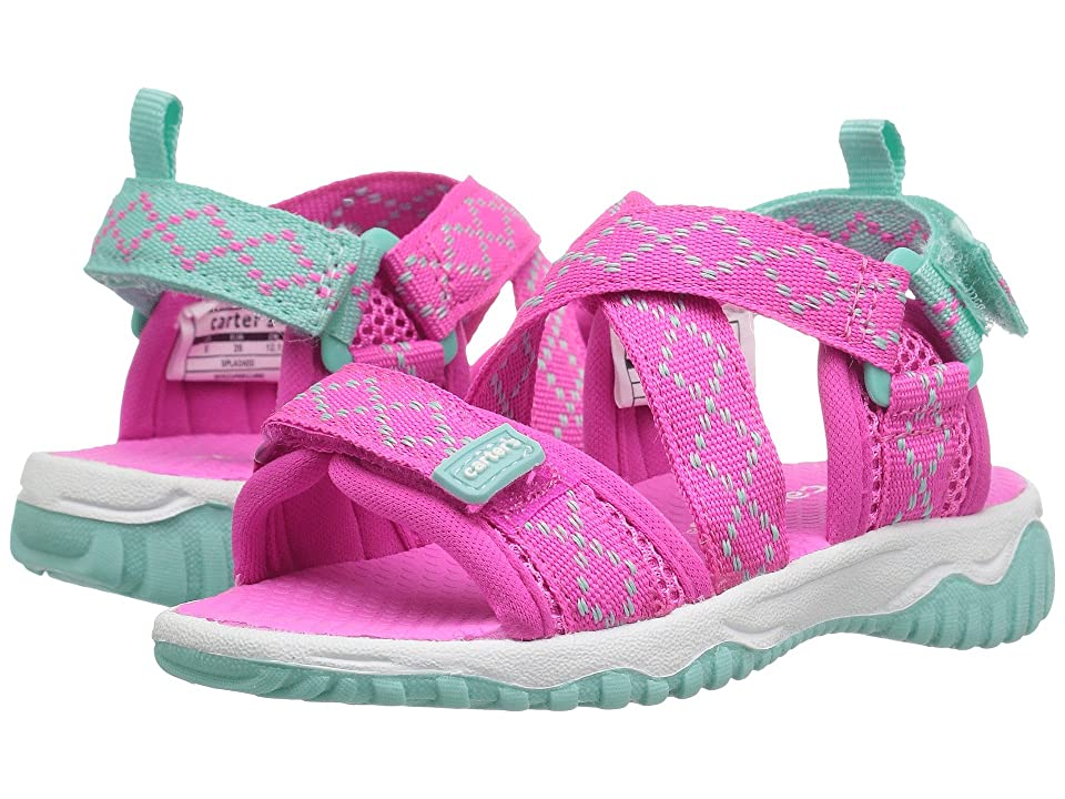 Carters Splash2G (Toddler/Little Kid) (Pink/Turquoise) Girl