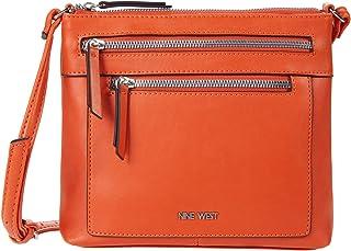 حقيبة كروس كوراليا تروبيك من ناين ويست - برتقالي - مقاس واحد