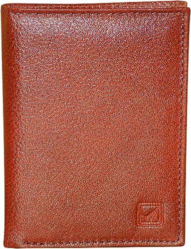 Style98 Style Shoes Leather ATM Credit Card Holder Cum Pocket Money Wallet for Boys, Girls, Men & Women