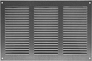 anti-insectos// mr2628 260x280mm blanca Rejilla de ventilaci/ón entrada-salida de aire metalicas