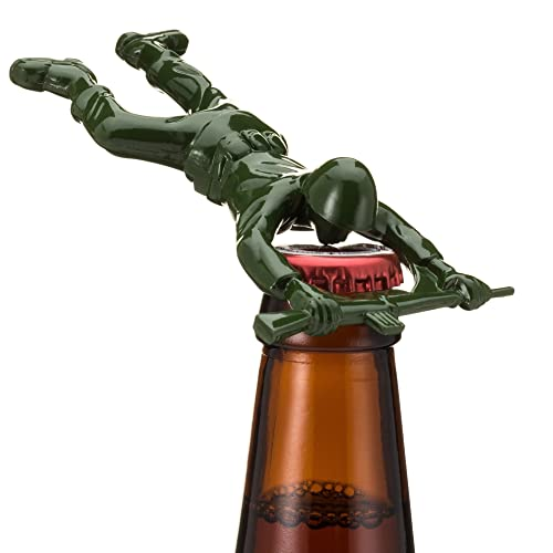 Down The Pike Sgt Pryer Green Army Man Bottle Opener Fun Unique Gifts For Men
