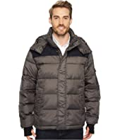 IZOD - Ultra Warm Insulated Mixed Media Puffer Jacket