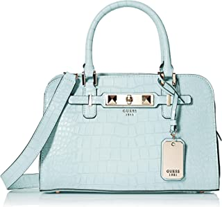 GUESS Cherie Croco Small Girlfriend Satchel