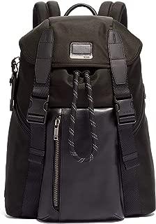 Alpha Bravo Douglas Laptop Backpack - 15 Inch Computer Bag for Men and Women - Black