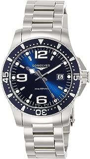 [ロンジン] 腕時計 ハイドロコンクエスト クォーツ L3.730.4.96.6 メンズ 正規輸入品 シルバー