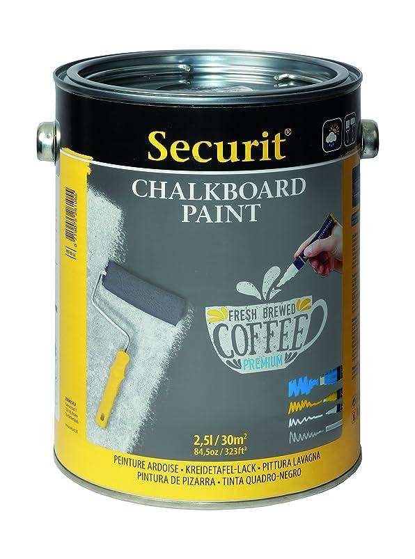 Securit Chalkboard Paint 85oz Grey nmwqbssr233345