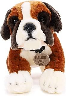 35cm Keel Toys Malibu the Boxer - Plush Dog - Childrens Soft Toys - Exclusive to Toylandョ