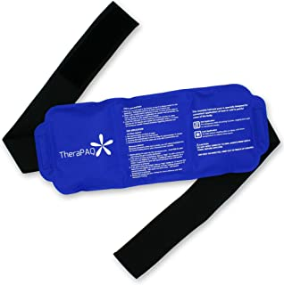 Pain Relief Flexible Ice Pack for Injuries by TheraPAQ | Hot & Cold Therapy Reusable..