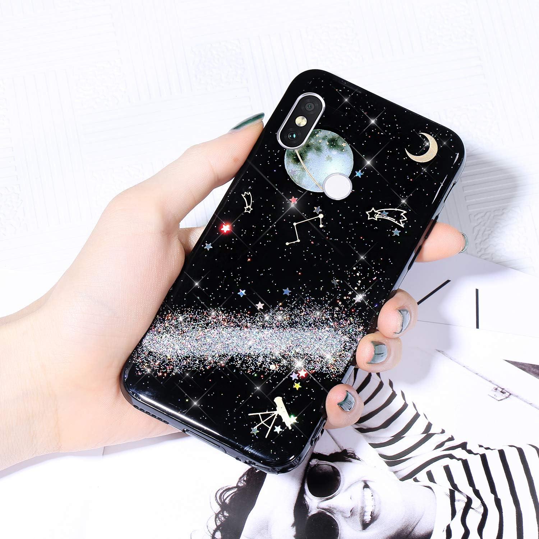 Case for Xiaomi San Jose Mall 8 SE Cover Sky Limited price sale Sparkle Starry Glitter Shiny