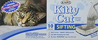 Alfapet Kitty Cat Extra Giant Pan Liners,40x38-Inch,10-Count