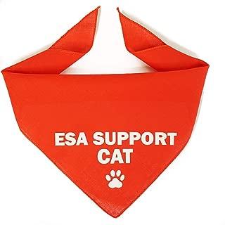 Register My Service Animal, LLC Emotional Support Cat Bandana - Red