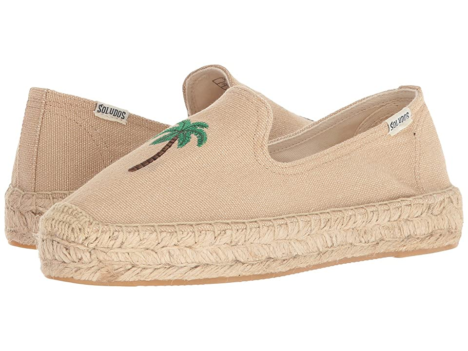 Soludos Palm Tree Smoking Slipper (Safari) Women