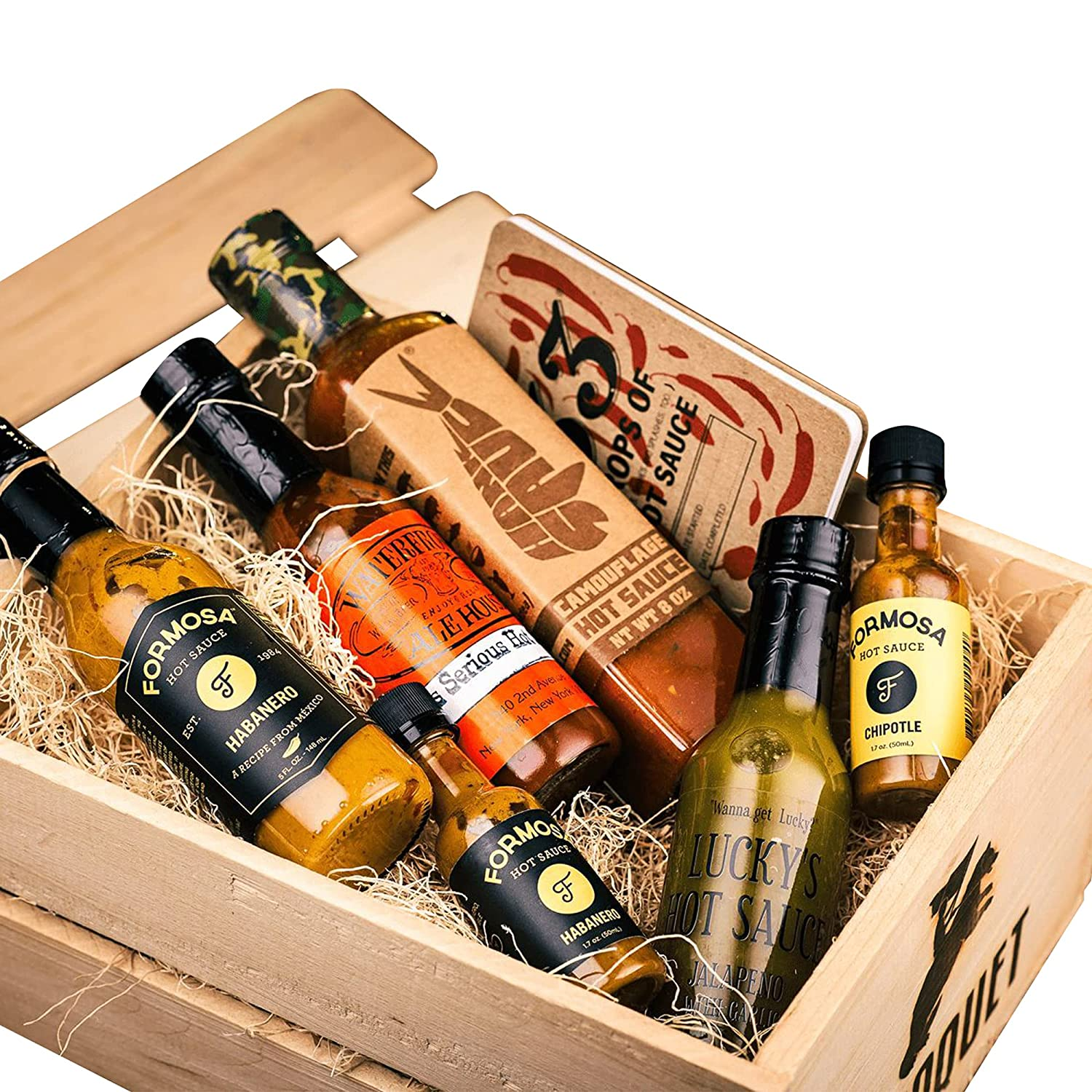 Hot Sauce Ranking TOP3 Gift Set: online shopping Includes 5 1 Tasting Journ Keto Sauces