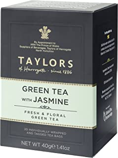 Taylors of Harrogate Green Tea With Jasmine, 40 gm