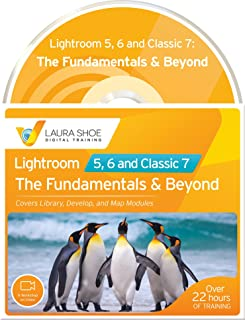 Adobe Lightroom 5, 6 and Classic 7: The Fundamentals & Beyond (A Workshop on Video)