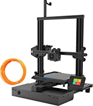 XVICO 3D Printer DIY Kit Aluminum Printing Machine with Filament Run Out Detection Sensor and Resume Print Metal Base Desktop 3D Printers for Home and School Education 220x220x250mm, Black