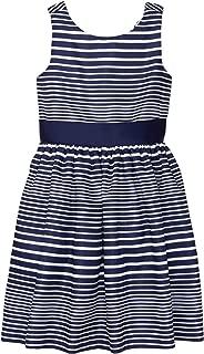 Gymboree Girls' Little Sleeveless Striped Bow Dress