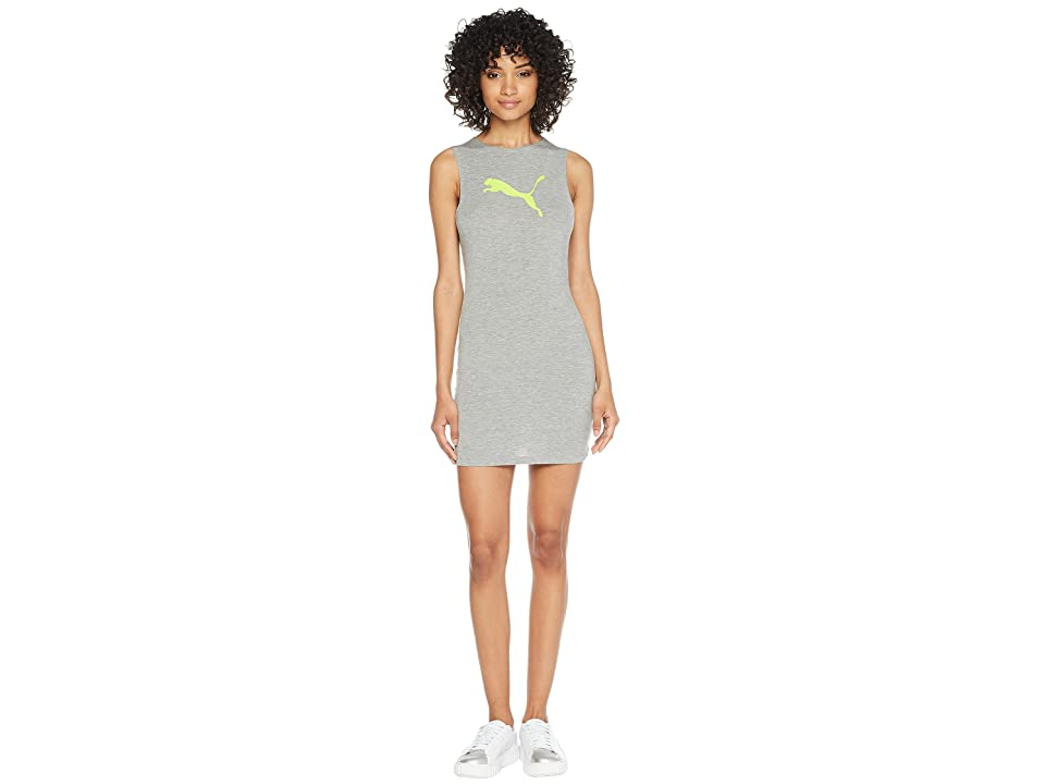 PUMA Puma x Fenty by Rihanna Full Zip Jersey Cover-Up Dress (Athletic Gray Heather) Women