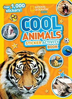 Cool Animals Sticker Activity Book: Over 1,000 Stickers!