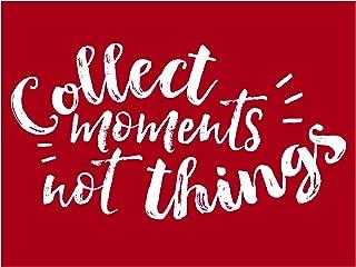 Darice 30060966 Collect Moments Quote Stencil, 4.5 X 6
