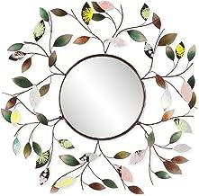 Best metal mirror wall art Reviews