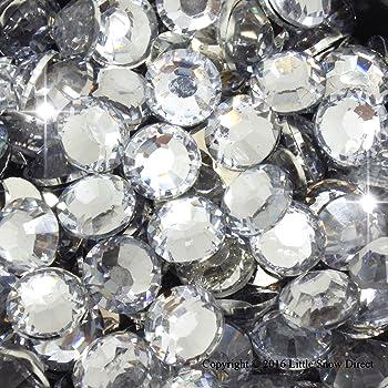 1000 COLOURED STICK ON DIAMONTE GEMS CRYSTAL RHINESTONE DIAMANTES
