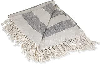 Best grey striped throw blanket Reviews