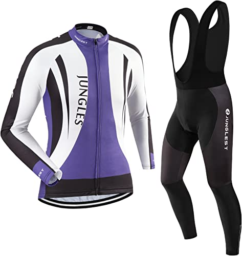 Maillot de Cyclisme Homme Manches Longues Jersey(S5XL,Option Cuissard,3D Coussin) N88