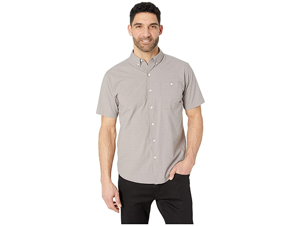 Mountain Hardwear Clear Creektm Short Sleeve Shirt (Manta Grey) Men