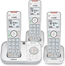 VTECH VS112-37 DECT 6.0 Bluetooth 3 Handset Cordless Phone for Home with Answering Machine, Call Blocking, Caller ID, Inte...