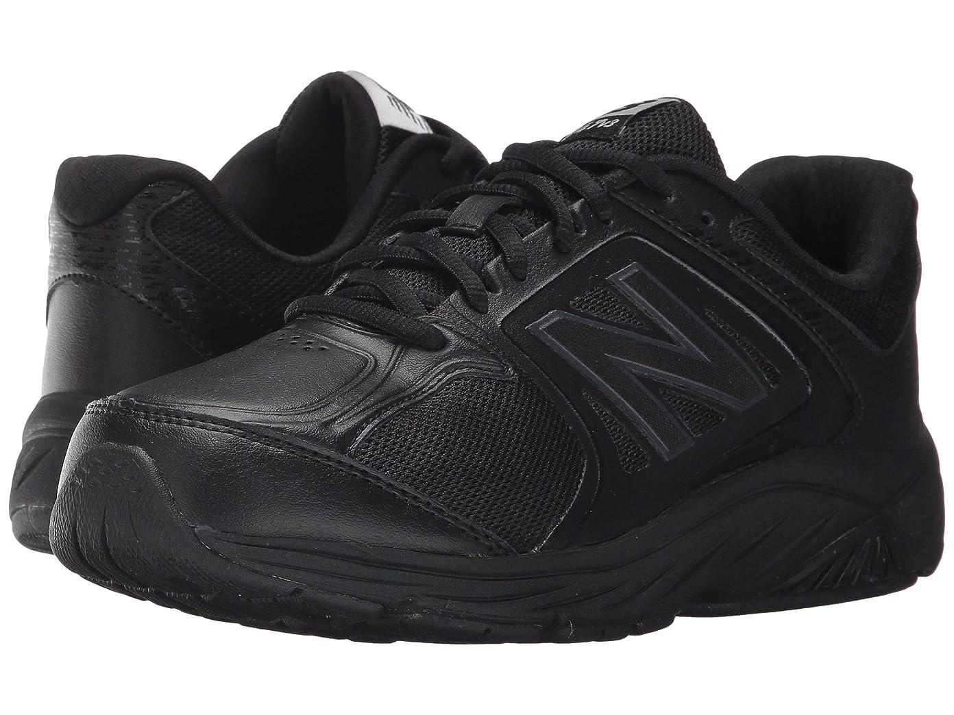 エイリアンあらゆる種類の瞬時に[new balance(ニューバランス)] レディースウォーキングシューズ?靴 WW847v3 Black/Black 13 (30cm) EE - Extra Wide [並行輸入品]