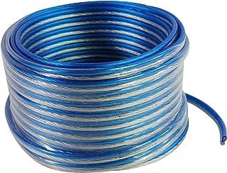 $21 » Sponsored Ad - Rockville Blue 14G50 OFC 14 Gauge 50 Foot 100% Copper Speaker Wire Car Audio