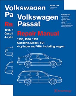 Volkswagen Passat (B4) Repair Manual: 1995, 1996, 1997 (2 VOLUME SET)