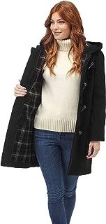 Original Montgomery Womens Long Duffle Coat - Charcoal (28)