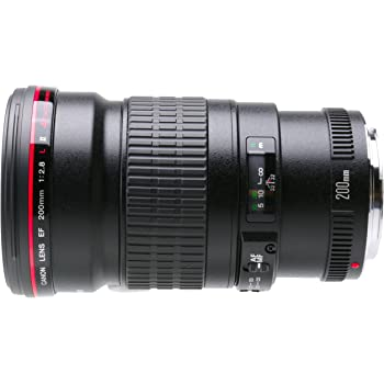 Canon EF 200mm f/2.8L II USM Telephoto Fixed Lens for Canon SLR Cameras