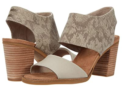 TOMS Majorca Cutout Sandal (Taupe) Women