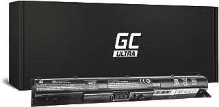 GC Ultra Serie Batería para HP Pavilion 15-AK002TX 15-AK002UR 15-AK003LA 15-AK003NF 15-AK003NG 15-AK003NL 15-AK003NS 15-AK003TX 15-AK003UR Ordenador (Las Celdas Originales Panasonic, 3400mAh, Negro)