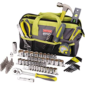 Craftsman Evolv 83 Pc. Homeowner Tool Set W/bag