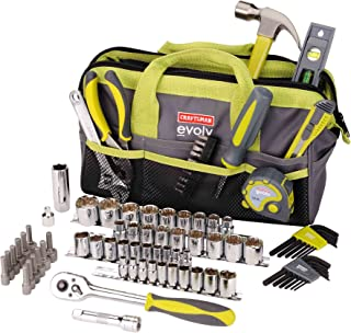Craftsman Evolv 83 Pc. Homeowner Tool Set W/bag