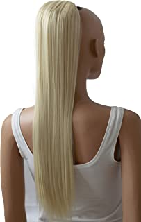 PRTTYSHOP Hair Piece Pony Tail Extension Draw String Voluminous Curly Heat-Resisting 26