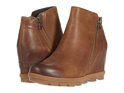 SOREL Joan of Arctictm Wedge II Zip (Velvet Tan) Women