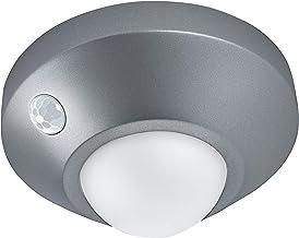 LEDVANCE Ledlamp, werkt op batterijen, lamp voor binnenshuis, bewegingssensor, dag-nachtsensor, koudwit, 86,0 mm x 47,0 m...