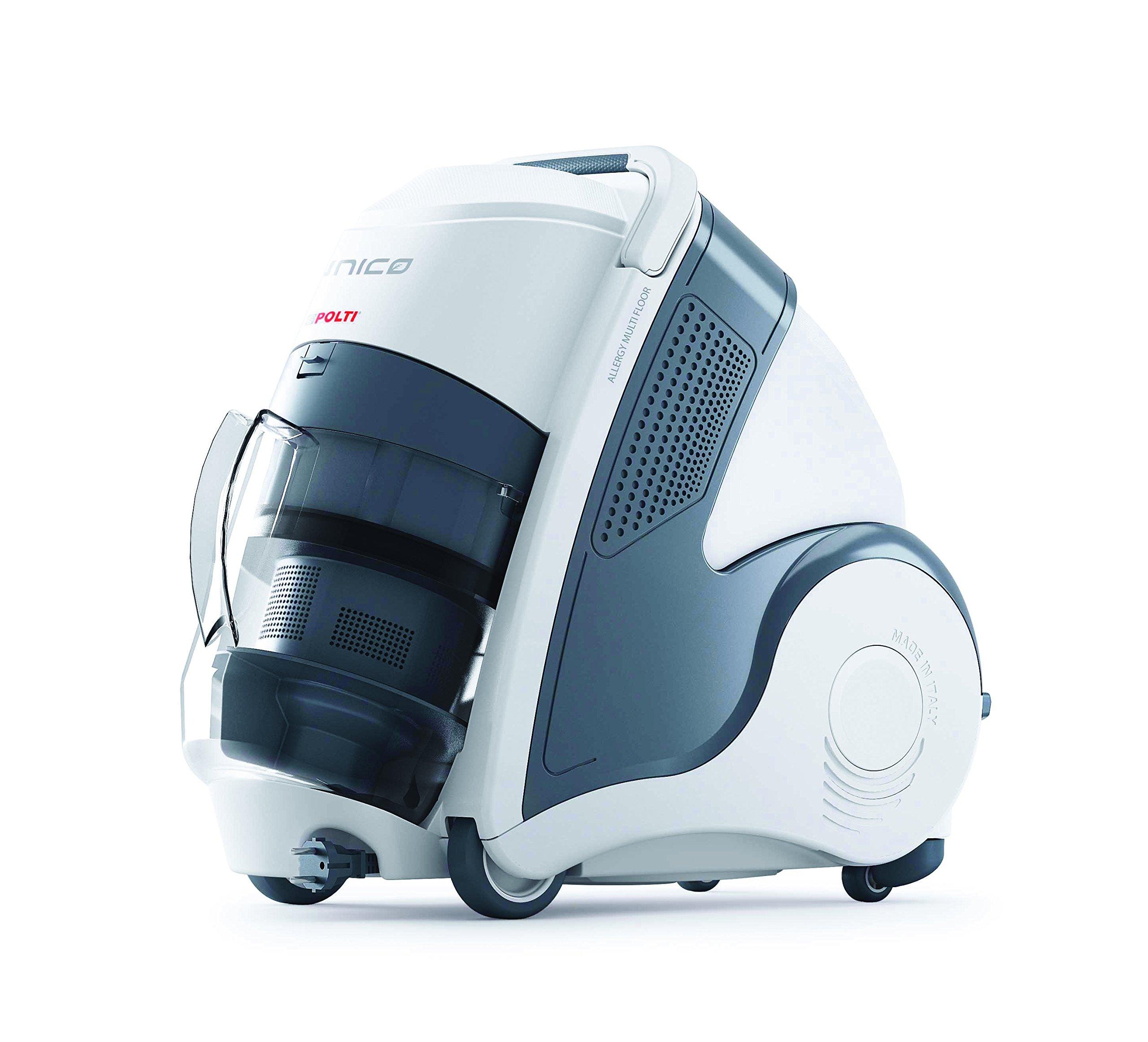 Polti Unico MCV20 Allergy Multifloor aspirador multiciclónico sin saco con limpiador a vapor integrado, 4 bar, Gris/Blanco (ricondizionato Certificado): Amazon.es: Hogar