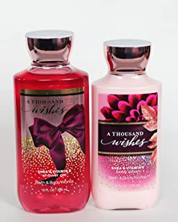Bath and Body Works A Thousand Wishes Gift Set of Shower Gel and Lotion