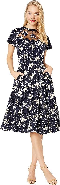 1940s Style Jessie Swing Dress