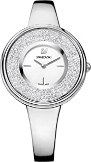 Ladies' Swarovski Crystalline Pure Silver Tone Watch 5269256