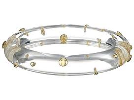 Gold Studded Hinge Bracelet